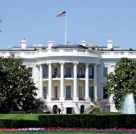 flag white house